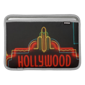 Hollywood neon sign, Los Angeles, California Sleeve For MacBook Air