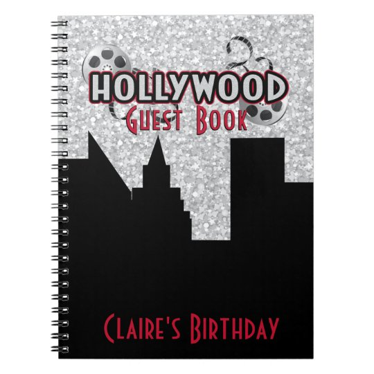 Hollywood Party Guest Book