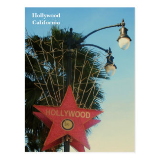 Hollywood Postcard! Postcard
