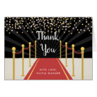 Hollywood Red Carpet Personalised Thank You