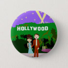 Hollywood Romance 6 Cm Round Badge