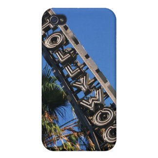Hollywood sign, Los Angeles, California iPhone 4 Cover