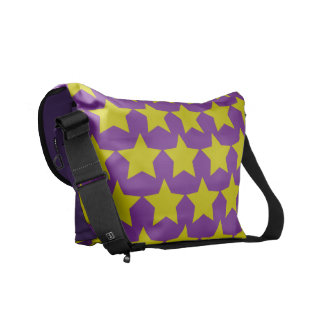 Hollywood star bag (purple & yellow) commuter bags