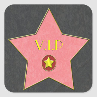 Hollywood Star Stickers