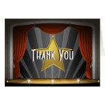 Hollywood Star Thank You Card