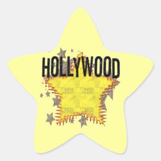 Hollywood Sticker! Star Sticker