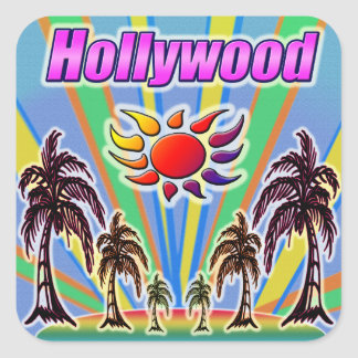 Hollywood Summer Love Sticker