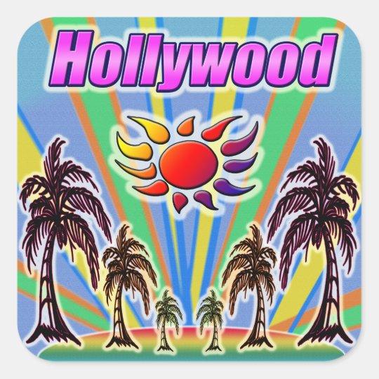 Hollywood Summer Love Sticker