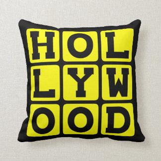 Hollywood, Tinseltown California Pillow
