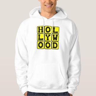 Hollywood, Tinseltown California Hoodie