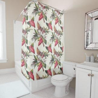 Hollywood Tropical Shower Curtain