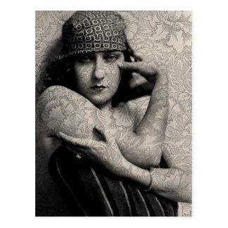 Hollywood Vintage Gloria Postcard