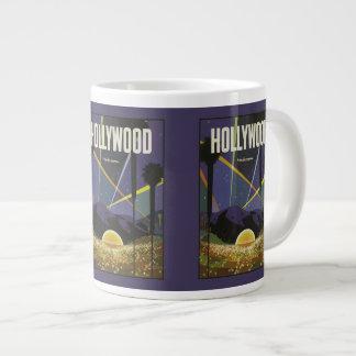 Hollywood Vintage Travel Poster mugs