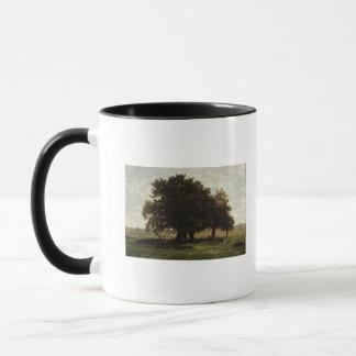 Holm Oaks, Apremont, 1850-52 Mug