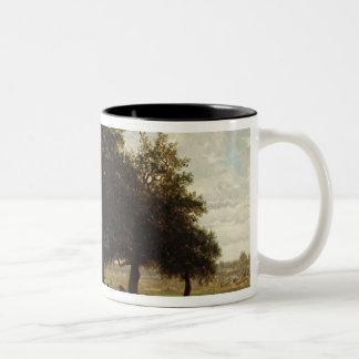Holm Oaks, Apremont, 1850-52 Two-Tone Mug