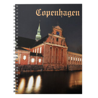 Holmens Church (Kirke) in Copenhagen, Denmark Notebooks