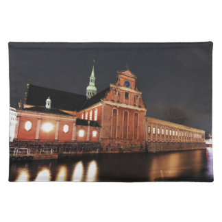 Holmens Church (Kirke) in Copenhagen, Denmark Placemat