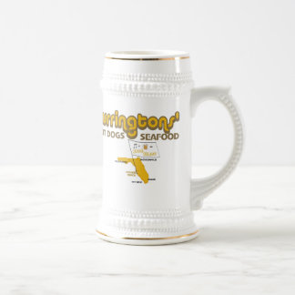 Holmes Beach Curringtons Cerveza Stein Mugs