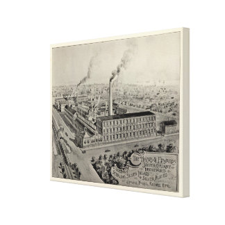 Holmes & Edwards Silver Co Canvas Print