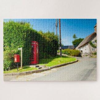Holne Telephone Box Jigsaw Puzzle