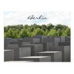 holocaust memorial postcard