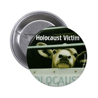 Holocaust Victim 6 Cm Round Badge
