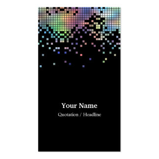 Hologram Business Card Template