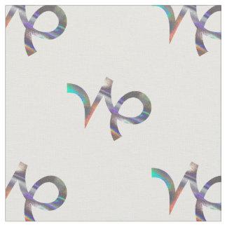 hologram Capricorn fabric