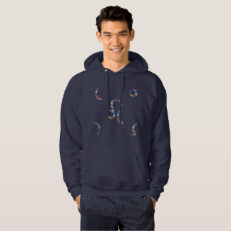 hologram leo mens hoodie hooded  sweatshirt