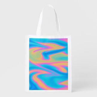 Holographic Design Reusable Grocery Bag
