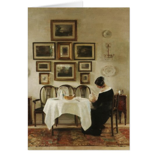 Holsøe Mother and child in a dining room
