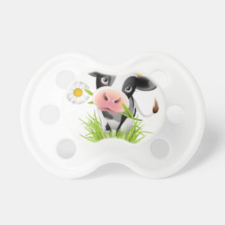 Holstein cow in grass dummy