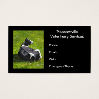Holstein Cow Original Painting Veterinary Services