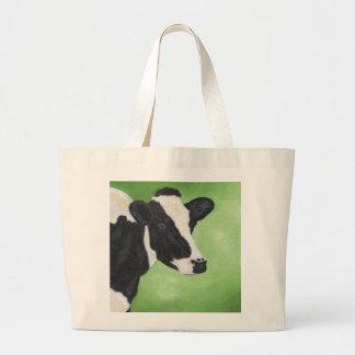 Holstein cow shopping bag
