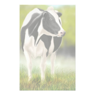 Holstein Cow Stationery