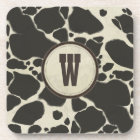 Holstein Cowhide Cow Hide Pattern Coaster