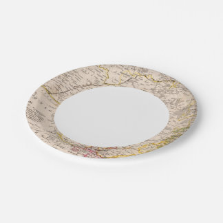 Holstein, Germany 2 7 Inch Paper Plate
