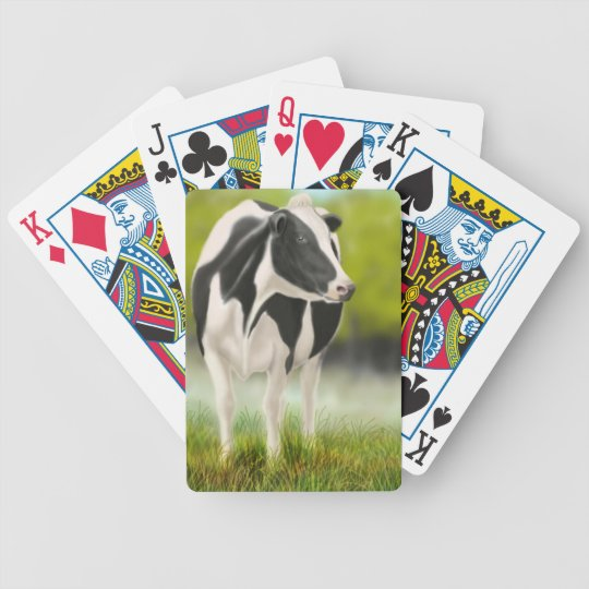 Holstein Milk Cow Playing Cards