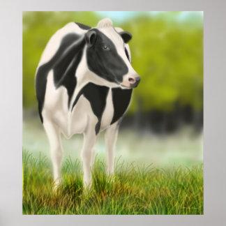 Holstein Milk Cow Print