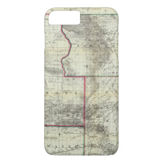 Holt's New Map, Wyoming iPhone 8 Plus/7 Plus Case