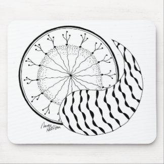 HoltZen Modern Zen Yin Yang Mouse Pad