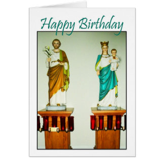 Holy Angels Catholic Church - Happy Birthday Card