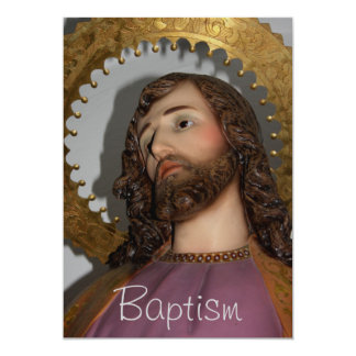 Holy Baptism Card Invites