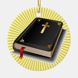 Holy Bible - SRF Christmas Ornament