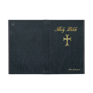 Holy Bible with faux leather iPad Mini Case