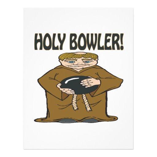 Holy Bowler Personalized Flyer