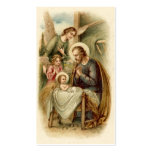 Holy Cards (Blank/Custom): St. Joseph Nativity Double-Sided Standard Business Cards (Pack Of 100)