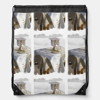 Holy Communion Drawstring Bag