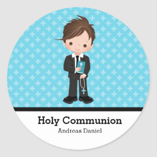 Holy Communion Round Sticker