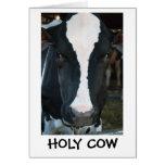 Holy Cow Birthday Card